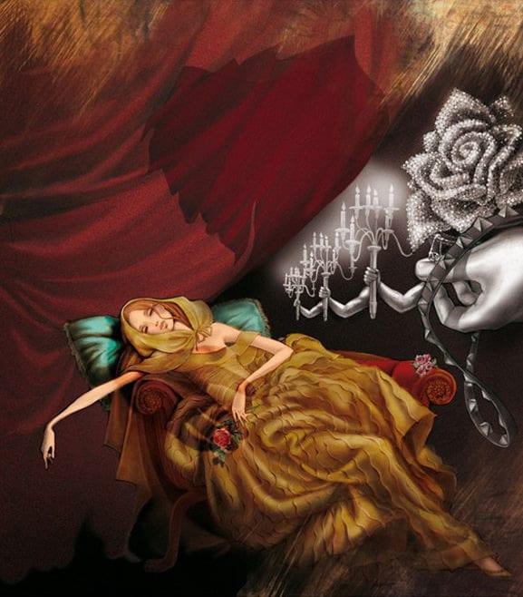 """Belle aus """"Die Schöne und das Biest"""" von Valentino"""