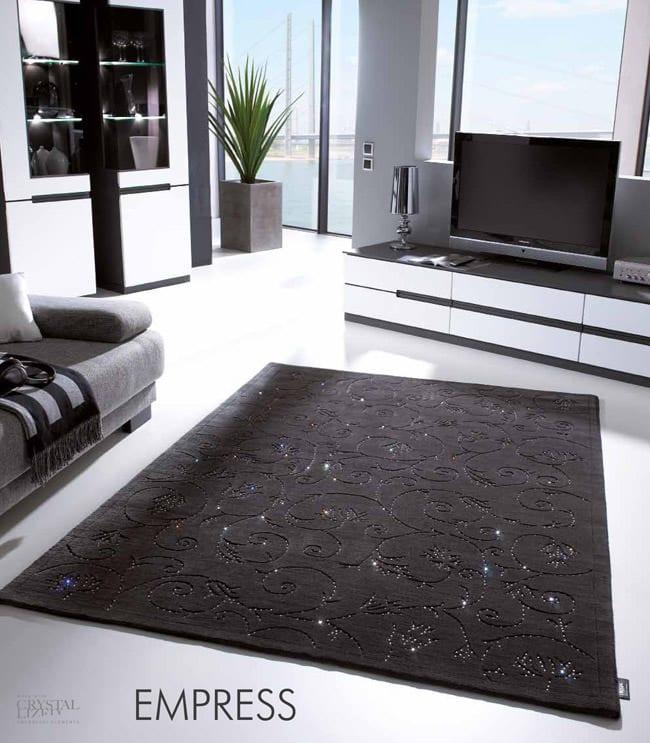Designerteppiche mit Swaroski Elements