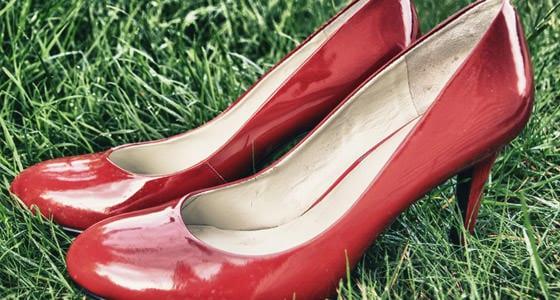 Rote High Heels sind Muss
