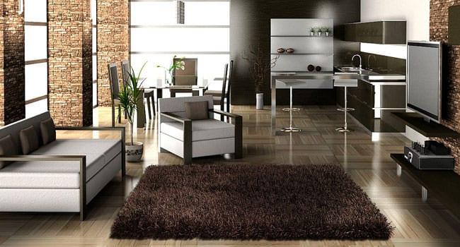 Teppich für Wohnraumgestaltung