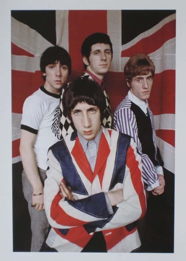Pete Townshend Union Jack
