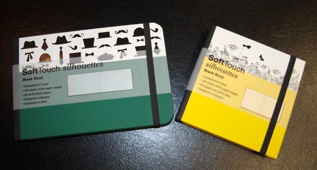 SoftTouch silhouettes Notizbücher
