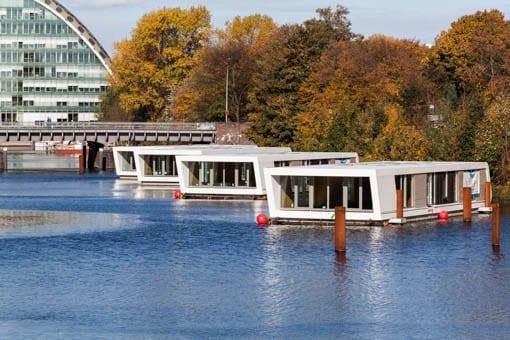 Hausboote als Trendimmobilien