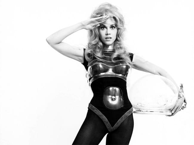 """""""Barbarella"""", 1968, Schauspielerin: Jane Fonda, Fotograf: unbekannt"""
