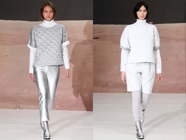 Designer: Organic by John Patrick, New York Fashion Week 2014, Fotograf unbekannt