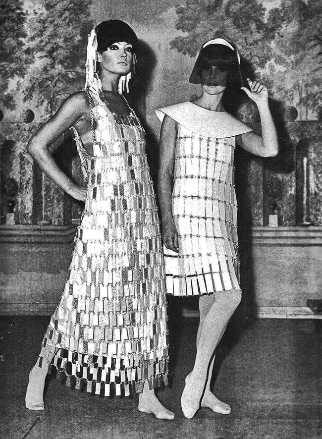 Designer: Paco Rabanne, 1966, Fotograf: unbekannt