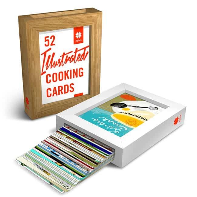 Kochen, Kunst und Cooking Cards