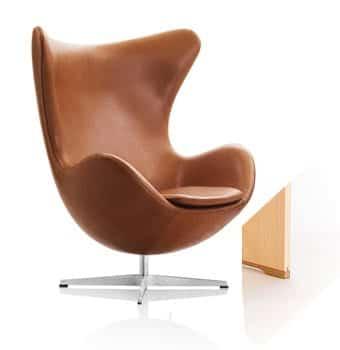 """Arne Jacobsen: Egg Chair (""""Das Ei"""")"""