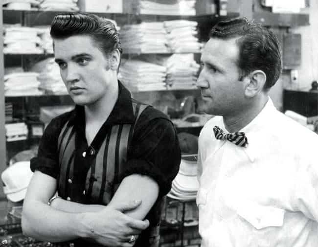 Elvis Presley & Bernhard Lansky, Foto: lanskybros.com