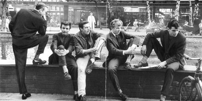 Teddy Boys in England, Foto: http://www.underground-england.co.uk/underground-history.php