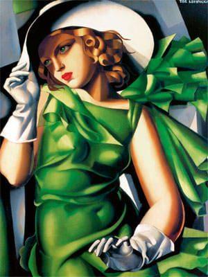 """Young Lady with Gloves"" von Tamara de Lempicka, 1930"