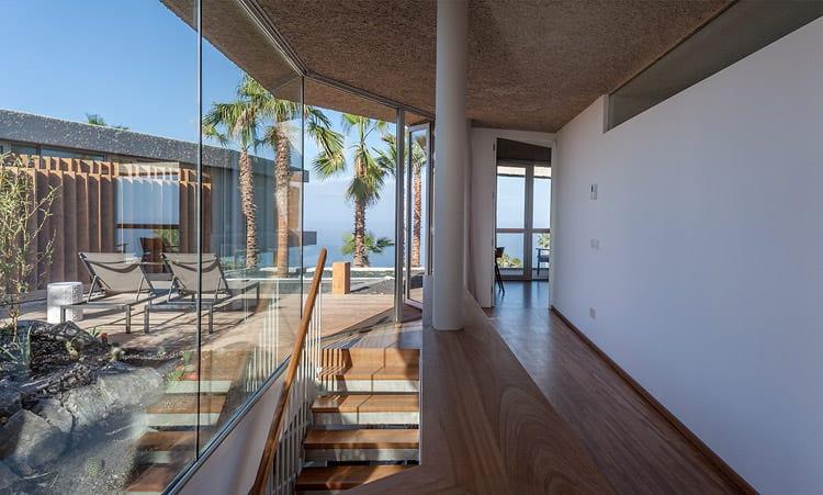 Zugang zur Terrasse, Foto: Abama Resort