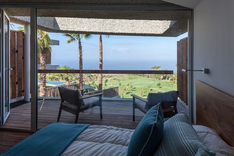 Schlafzimmerblick, Foto: Abama Resort