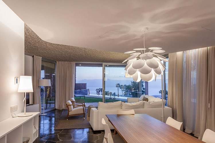 Ess- und Wohnbereich, Foto: Abama Resort