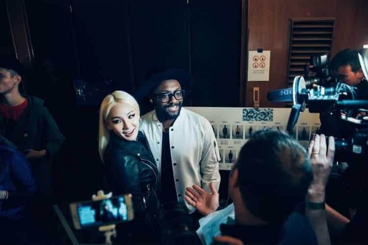CL and Will.i.am, Foto: PRNewsFoto/MCM