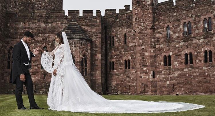 Das Hochzeitskleid von Ciara