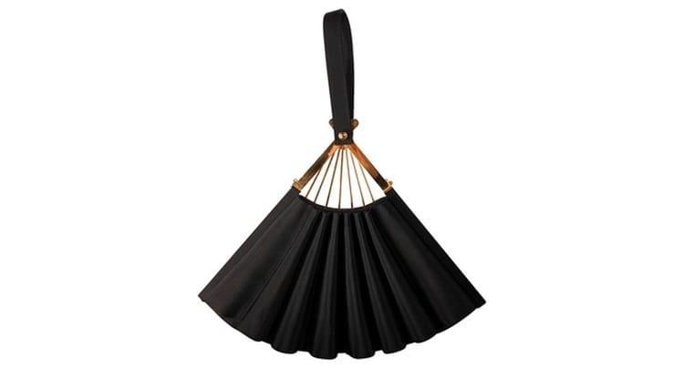 Karl Lagerfeld Fan Bag aus Satin
