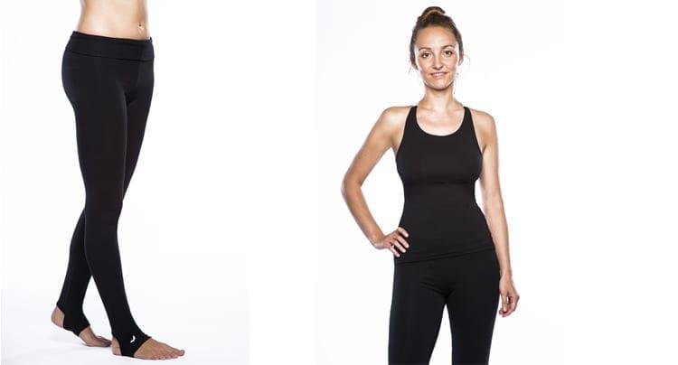Links: Cozy H-T Leggings, rechts: Cozy Top, Foto: Copanya