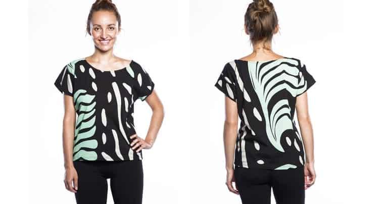 Buntes Warm-up T-Shirt, Foto: Copanya