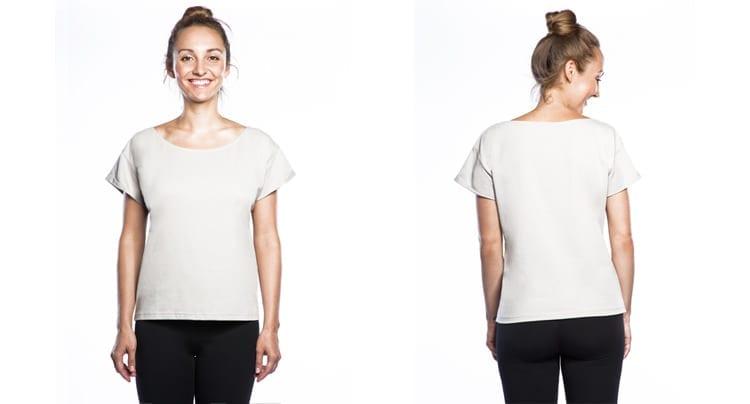 Schlichtes Warm-up T-Shirt, Foto: Copanya