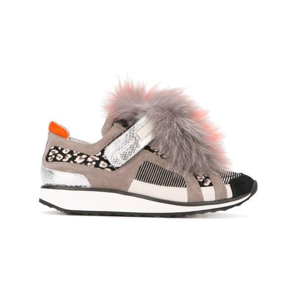 Pierre Hardy 'Fur Runner' sneakers