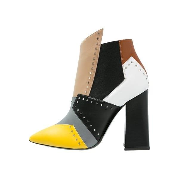 Pollini High Heel Stiefelette country/multicolor