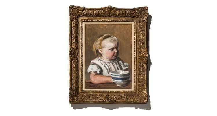 """""""L'Enfant à la tasse"""" von Claude Monet, Foto: Auctionata"""
