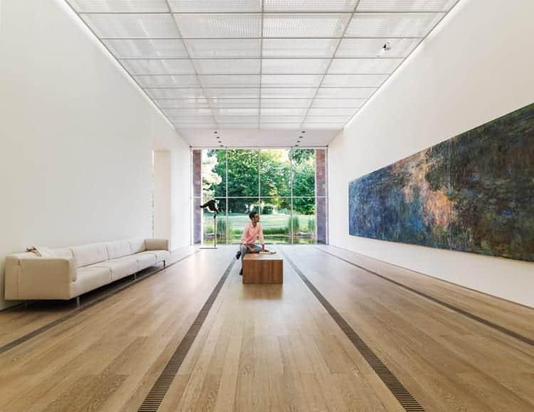 """Fondation Beyeler © Stephan Schacher - Anzeige: Städtetrip nach Basel zu """"Claude Monet"""""""
