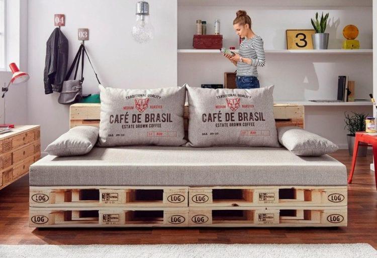 Möbel aus Paletten - DIY oder kaufen?