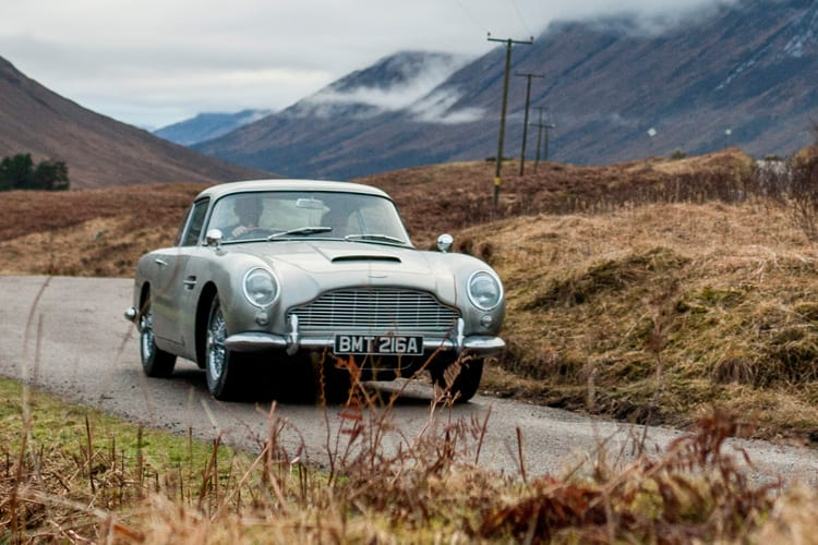 Werde selbst zu James Bond - mit dem DB5 von Aston Martin