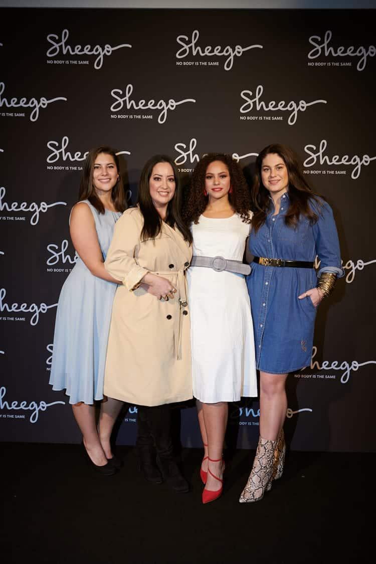 Miyabi Kawai Kollektion für sheego kommt gut auf der Fashion Week in Berlin an