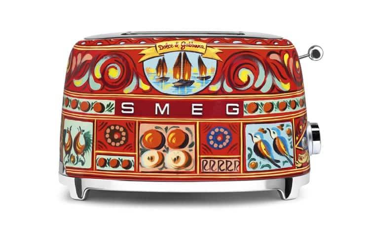 Der Toaster aus der Smeg/Dolce-Gabbana-Kollektion, Foto: Smeg