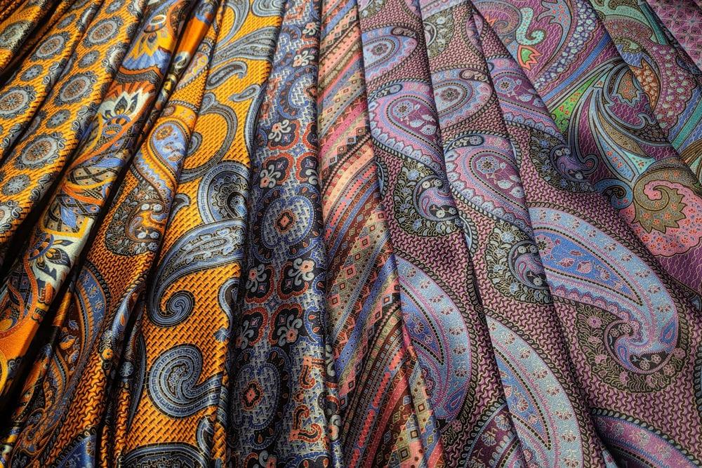 Stoffkunde - Paisley-Muster