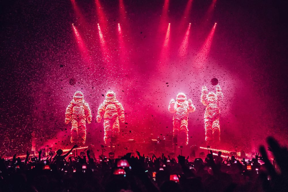 Chemical Brothers in der O2-Arena