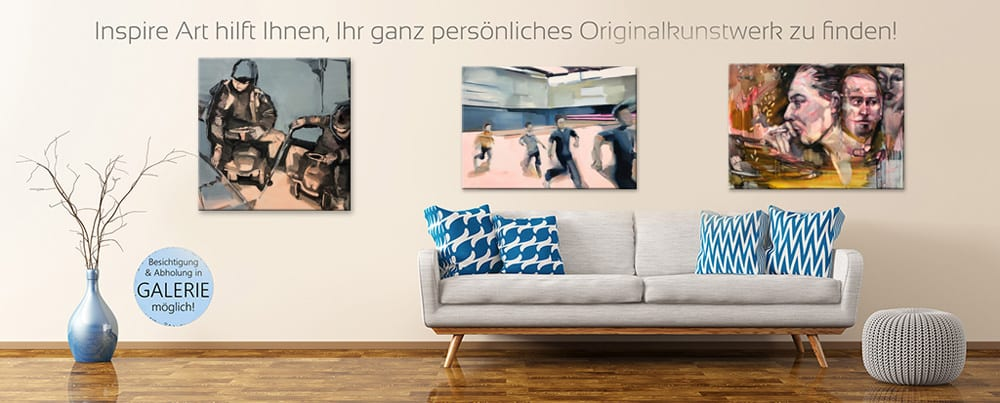 Dresdner Kunstgalerie INSPIRE seit über Jahren junge, neue etablierte Kunst auch online