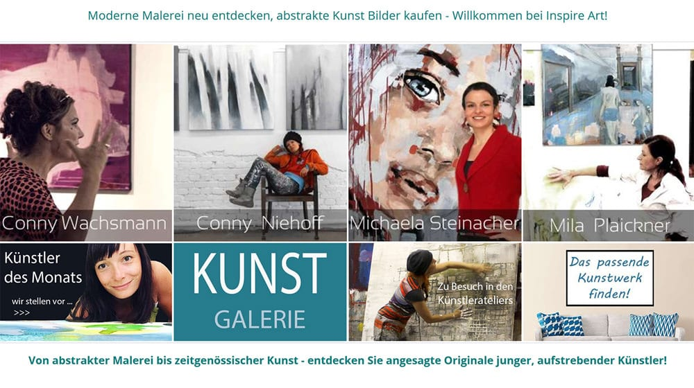 Dresdner Kunstgalerie INSPIRE ART  -  15 Jahren junge, neue & etablierte Kunst