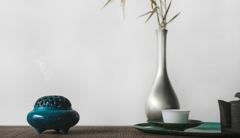 Klare Linien und Formen sind Bestandteile des Asian Style