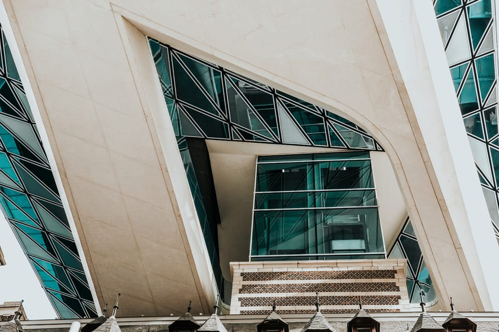Details der Fassade, Foto: Vitor Pinto /  Unsplash