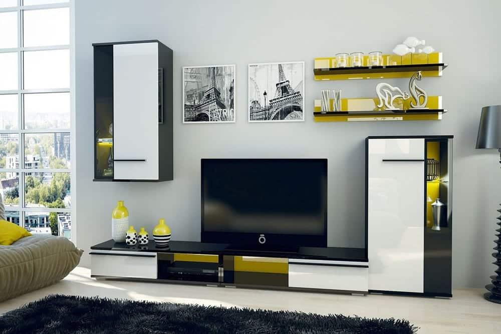 Möbel - Hochglanz im Wohnzimmer