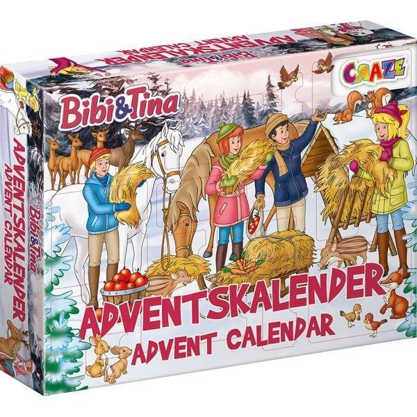 Adventskalender von Bibi & Tina mit vielen Überraschungen