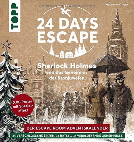 In diesem Adventskalender erforschst du das alte, vom Nebel umschlungene London und triffst auf den Meisterdetektiv Sherlock Holmes.
