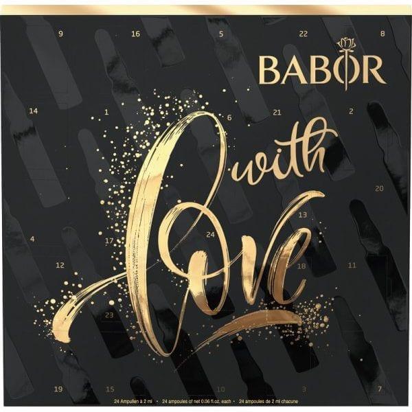 Adventskalender von Babor mit 24 Wirkstoffampullen