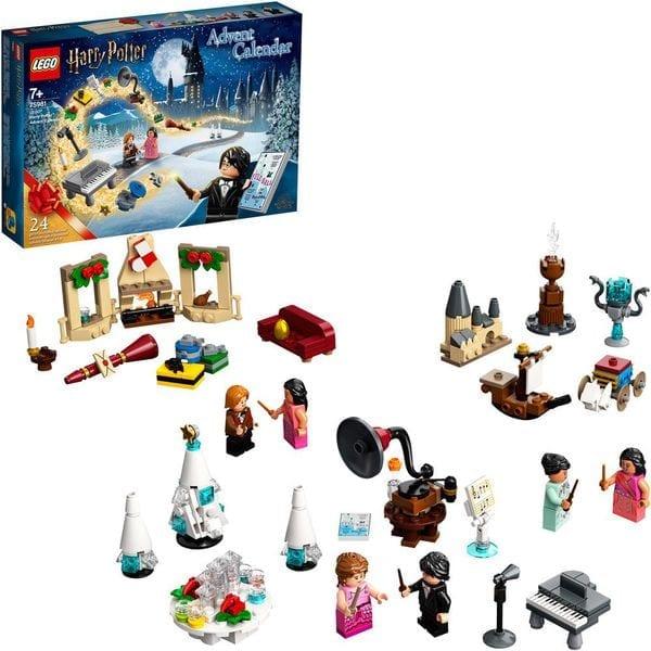 Riesige Vorfreude auf Weihnachten mit dem LEGO® Harry Potter™ Adventskalender.