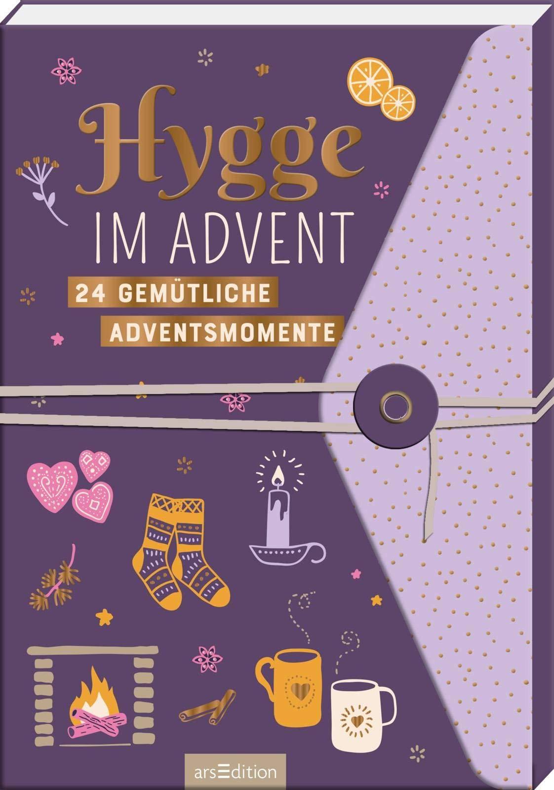 Dieser Adventskalender dreht sich rund um die dänische Geheimformel zum Glücklichsein: Hygge.