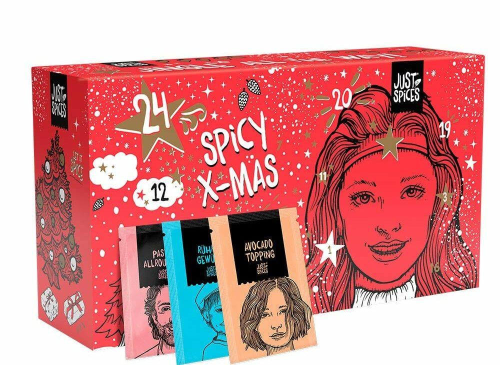 Der Adventskalender für Erwachsene – ohne Schokolade, dafür mit vielen bunten Gewürztüten und Vorfreude auf Weihnachten