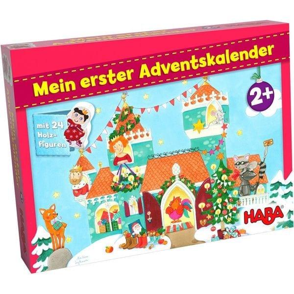 """Adventskalender von HABA mit Holzfiguren rund um das Thema """"Prinzessinnenschloss"""""""