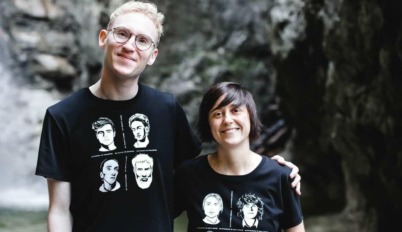 Die Gründer von portrait52: Alice Pelzl (42) & Christian Walther (26), Foto: Pelzl & Walther GbR