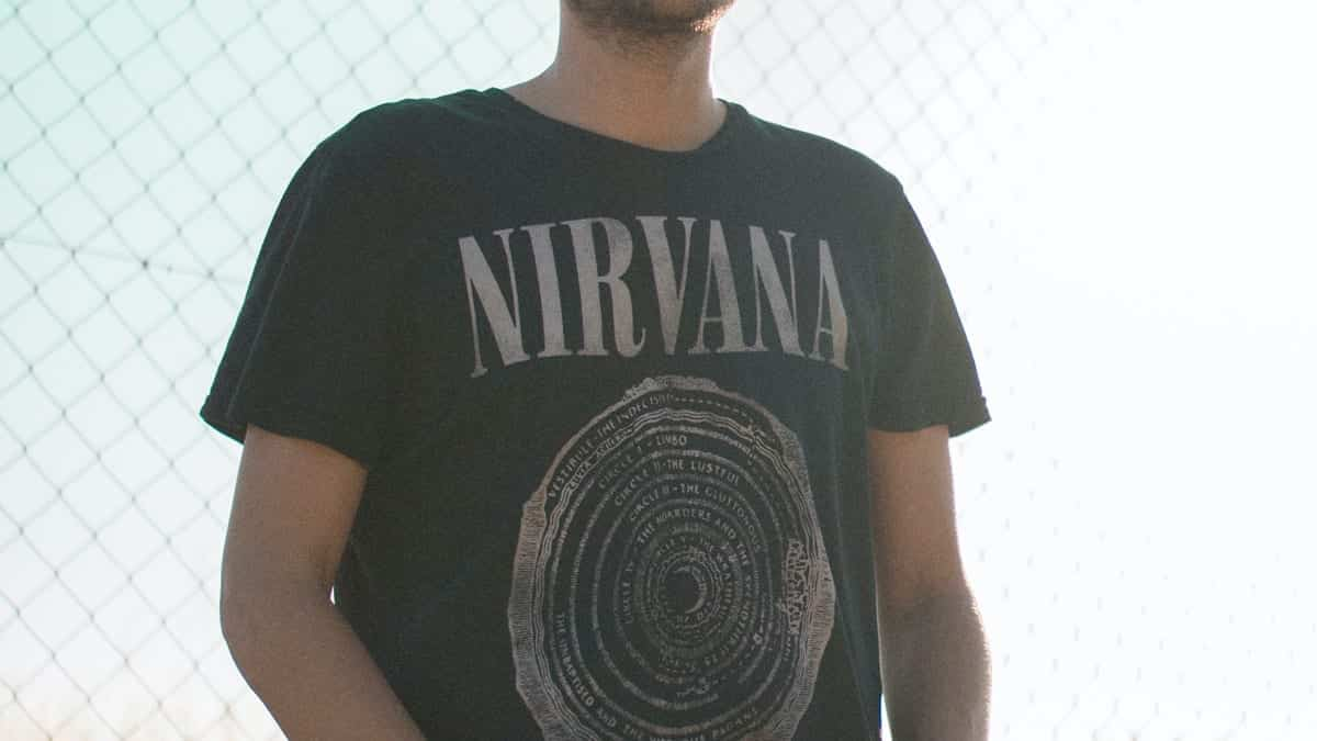 Band-Shirts von Nirvana sind auch heute noch sehr beliebt