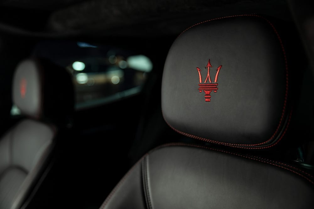 Das bekannte Logo von Maserati, Foto: Maserati Media