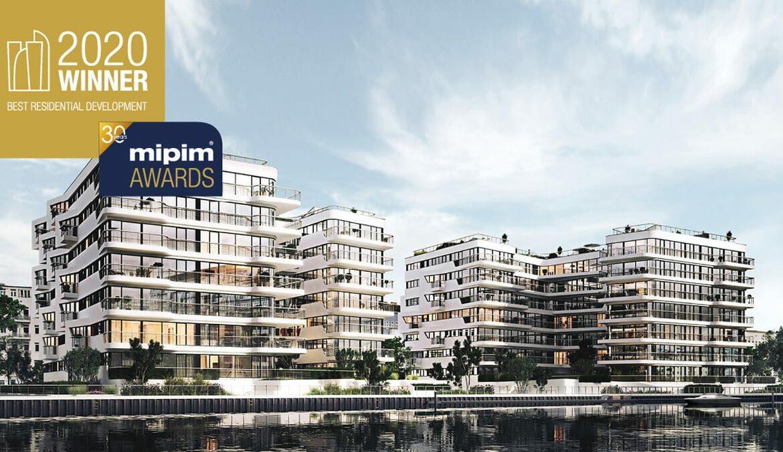 Wave waterside living berlin gewinnt MIPIM AWARD 2020